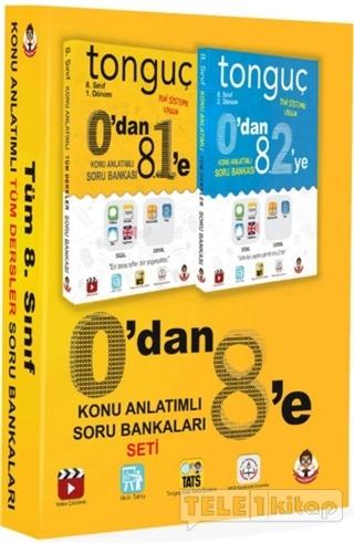 0'Dan 8'e Konu Anlatımlı Soru Bankaları (2 Kitap Set)