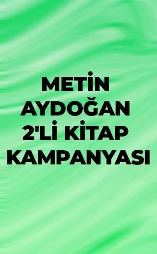 Metin Aydoğan 2'li Kitap Seti